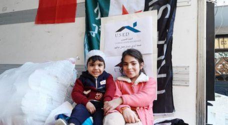 """البيت السوري ينهي المرحلة الأخيرة من حملة """"أيدي بأيدك لنجعل شتائهم دافئ"""""""