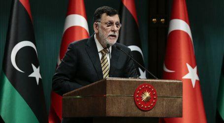 السراج: تركيا كانت مثالا في اتخاذ تدابير ملموسة ضد العدوان