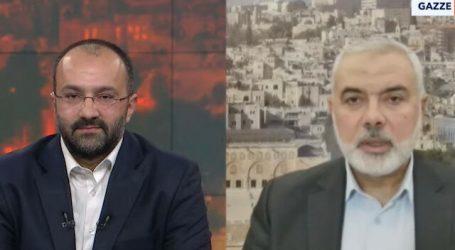"""هنية: مواقف تركيا تجاه فلسطين """"ثابتة وأصيلة"""""""