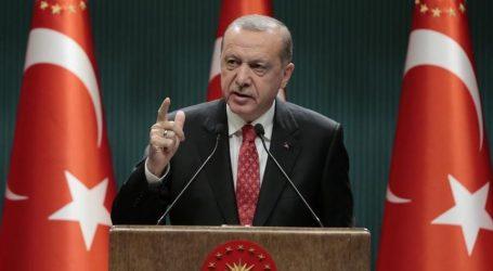 أردوغان يهاجم فرنسا ويؤكد دعم بلاده للوفاق الليبية