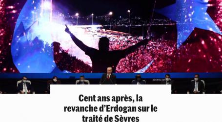 صحيفة اللومند: أردوغان ينتقم من معاهدة سيفر