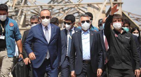 """نائب الرئيس التركي: زيارة لبنان بمثابة """"شيك مفتوح"""" لمساعدة أشقائنا"""