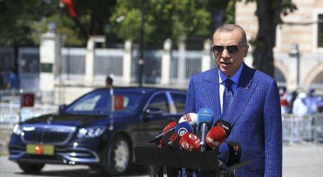 أردوغان: اتفاق اليونان ومصر لترسيم الحدود البحرية لا قيمة له