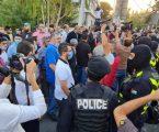 """وقفة أمام السفارة الفرنسية في الأردن تنديدا بتصريحات ماكرون والإساءة """"للرسول"""""""