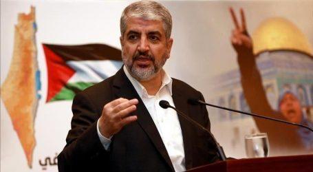 حماس تنتخب خالد مشعل رئيسا لها في الخارج