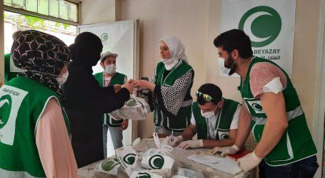 مساعدات رمضانية ل 500 أسرة سورية في هاتاي (فيديو + صور)